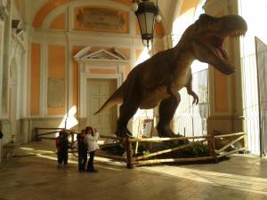 Il T-Rex all'ingresso