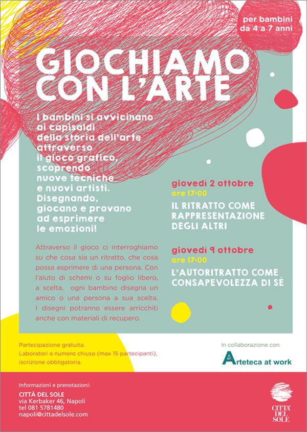 Exceptionnel Laboratori di Arte offerti ai bambini da Città del Sole | Napoli  JT15
