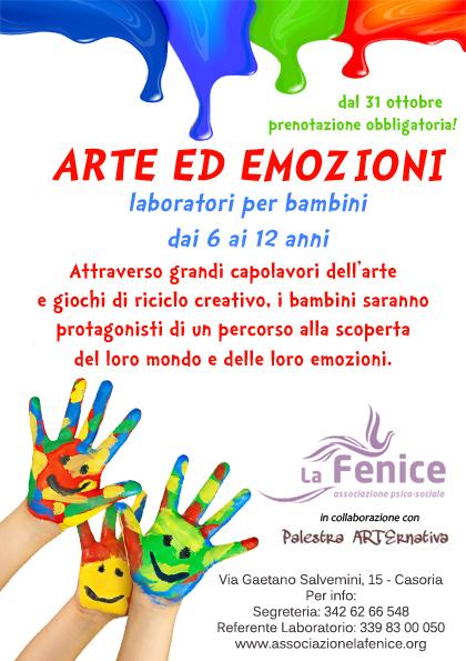 Extrêmement Arte e psicosocialità nei laboratori per bambini a Casoria  SV17