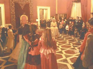 ballo a corte foto napoli per bambini