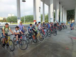 bike to school scampia
