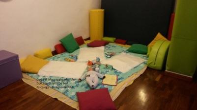 stanza massaggio infantile Dott.ssa Gisella De Feo Studio Maya