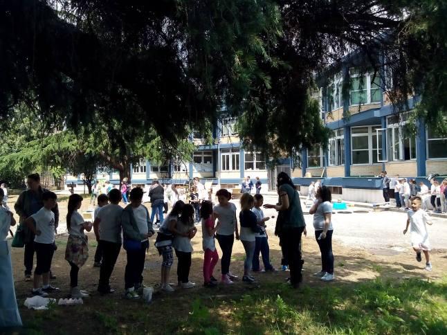 scuola in cortile